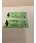 2- 1951 Philadelphia Eagles Season Ticket Stubs Shibe Park NFL Rare - $44.95