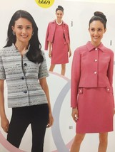 Burda Sewing Pattern 6669 Misses Ladies Jacket Size 6-16 New - $13.43