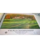 2005 Baltusrol PGA Championship Poster Baltusrol Golf Club August 11-14 ... - $69.99