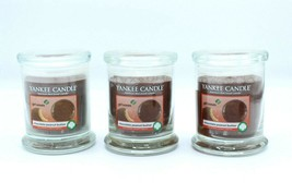 Lot x3 Yankee Candle 8 oz Girl Scouts Chocolate Peanut Butter Footed Jar... - $44.99