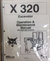 Bobcat 320 Excavator Operation & Maintenance Manual Operator/Owner's 3 # 672489 - $25.00