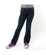 Jordache Girl's Boot Cut Denim Jean Regular Fit Plus Size 8.5 Plus NWT - $11.99