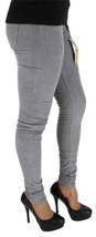 Levi's 535 Junior's Classic Corduroy Skinny Leggings Gray 119970131 image 2