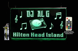Custom DJ Sign, LED, Man Cave Bar Sign - Lighted Sign - Music sign - $96.03+