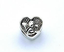 SALE New Beautiful Guardian Angel Charm European bead for jewelry Sterling Silve - $15.42