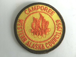Vintage Rare 1959 Western Alaska Council Camporee Patch Boy Scouts BSA - $15.11