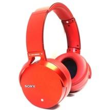 Sony MDR-XB950B1/R Extra Bass On Ear Wireless Headphones - Bluetooth - Red - $251.05 CAD