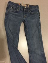 Juicy Couture Jeans Girls Size 24 Distressed Boot Cut image 4