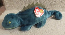 Ty Beanie Baby Iggy 5th Generation Gasport Tag Error 1997 - $8.90