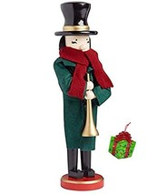 Distinctive Designs Horn Musician Caroler Large Decorative Holiday Seaso... - $42.33