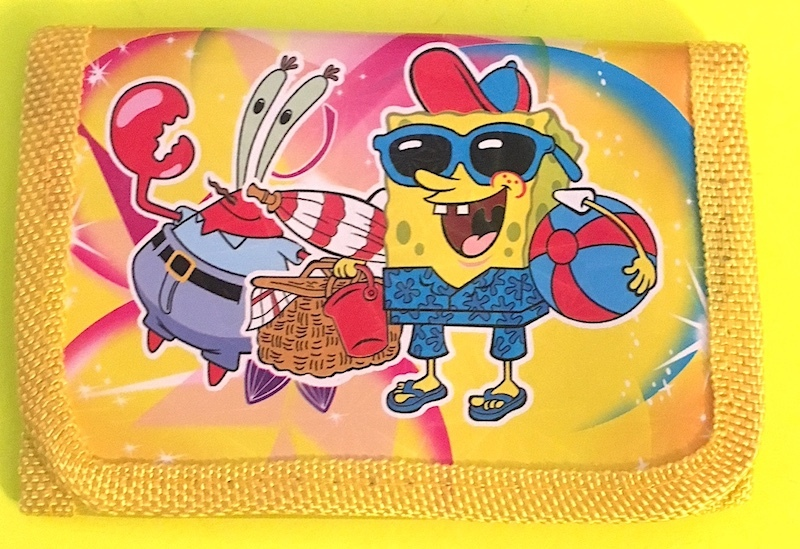 Spongebob Squarepants Children's Wallet— More Fun Characters Available Too NEW!