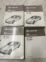 1993 1994 LEXUS SC400 SC 400 SC300 SC 300 Service Repair Manual Set - $118.75
