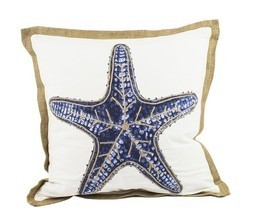 "Fennco Styles Home Dcor Sea-inspired Space Decorative Throw Pillow -20"" ... - $920,39 MXN"
