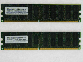 8GB  (2X4GB) MEMORY FOR DELL POWEREDGE 1855 6800 6850 SC1420 SC1425