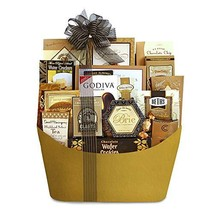 California Delicious Black Tie Gourmet Gift Basket