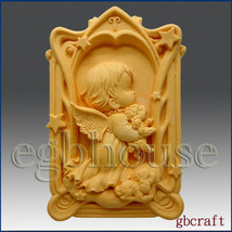 egbhouse, 2D Aries Pray Angel of Compassion Silicone Mold - Boy - $31.68