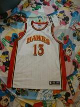 Vintage Atlanta Hawks Glenn Robinson NBA Authentic Jersey Size 48 XL  - $98.99