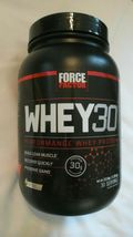 FORCE FACTOR WHEY30 Performance Whey Protein (Vanilla) 30 servings 2.8 l... - $35.00