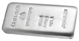 1kg 999.0 Fein Silber Metalor 1000.00 Gramm Silber Bullion Verbindung - $2,133.41