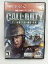 Call of Duty: Finest Hour (Sony PlayStation 2, 2004) - $6.92
