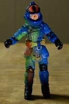 """Lanard Corps Figurine Articulée 2003 3.75 """" Bleu Vert - $5.88"""