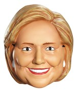 Hillary Clinton Mask 1/2 Political First Lady Adult Halloween Costume DG... - $29.99