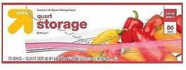 Up & Up Quart Food Storage Bags 50ct each