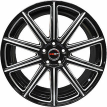 4 Gwg Wheels 20 Inch Black With Mill Mod Rims Fits Ford Mustang Boss 302 2012-14 - $599.99