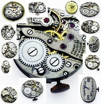 Rare Antique Vintage Winding Watch Movement For Parts Repair Verities to... - $13.09+