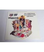 Live and Let Die Soundtrack ORIGINAL Vintage 1973 Vinyl LP Record Album - $18.49