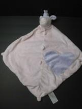 1A Angel Dear Unicorn Pink Purple Heart Lovey Security Blanket Plush Sof... - $12.86