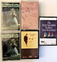Lot of 5 Classical/ Easy Listening Cassettes Somewhere in Time Waltz Music  - $8.81