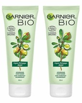 Lot of 2 Garnier Bio Organic Argan Nourishing Moisturizer 50ml - $17.14
