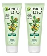 Lot of 2 Garnier Bio Organic Argan Nourishing Moisturizer 50ml - $17.14