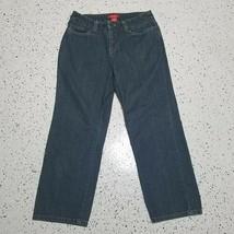 A Line Anne Klein Women's Denim Blue Capri Jeans ~ Sz 4 ~ 100% Cotton - $12.86
