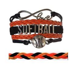 Softball Bracelet & Headband Set - Perfect Softball Player, Team and Coa... - $18.50