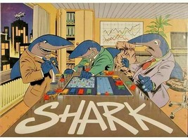 Shark - Flying Turtle Games - 1987 Edition - Stock Trading Game -=NEW & ... - $34.95