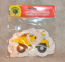 NEW IN PACKAGE TEACHING TREE LACE & LEARN SHAPES TRUCKS - $5.89