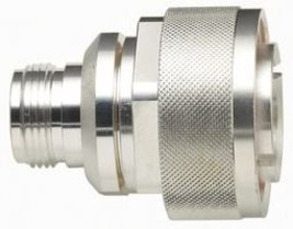 POMONA 6257 RF/COAXIAL ADAPTER, N JACK-7/16 DIN PLUG - $133.89