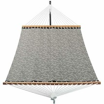 Patio Watcher 14 FT Quick Dry Hammock with Double Size Solid Wood Spread... - $91.48
