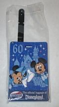 American Tourister 60th Anniversary Disneyland Resort Luggage Name Tag - $12.00