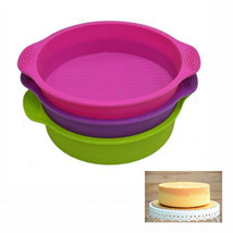 Silicone Round Shape Cake Mould  Pan - $22.99