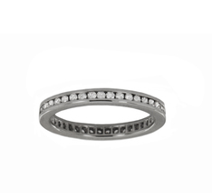 Cartier Ballerine Diamond Platinum Wedding Band Ring - $3,800.00