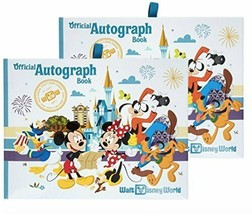 Walt Disney World Four Parks Official Autograph Book - Set of 2 Books - $42.52