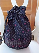 Vera Bradley ditty bag in retired Laurel pattern - $16.00