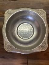 Continental Silver Company Wild Rose Brilliantone Dish/Bowl Wild Rose 1058 - $19.79