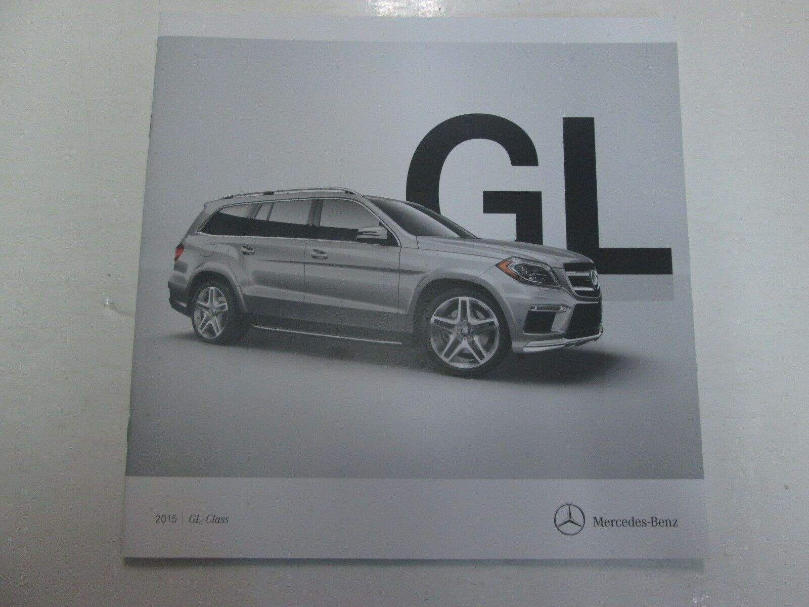 Primary image for 2015 Mercedes Benz GL-Class Sales Brochure Manual FACTORY OEM DEALERSHIP