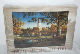 """Terry Redlin Limited Editions """"Sunday Morning"""" 1000 Piece Jigsaw Puzzle NEW - $19.79"""