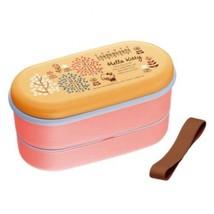 HELLO KITTY  Sanrio lunch box Bento dog house design 2 stage 630ml Made ... - $33.92