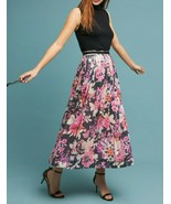 Anthropologie Pleated Sequin Skirt by Maeve $170 Sz 8 - NWT - $84.99